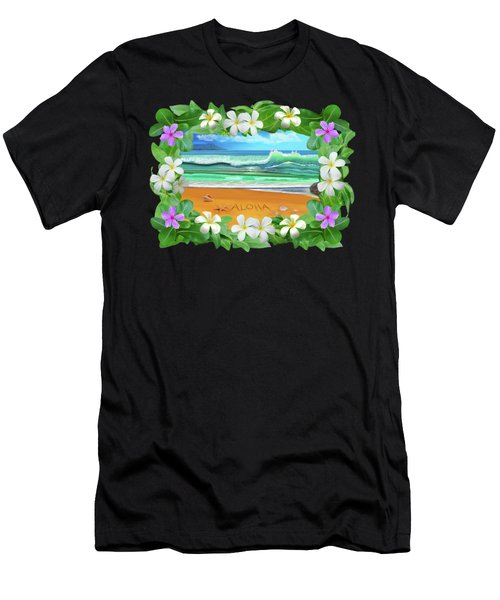 Aloha Hawaii Men's T-Shirt (Athletic Fit)
