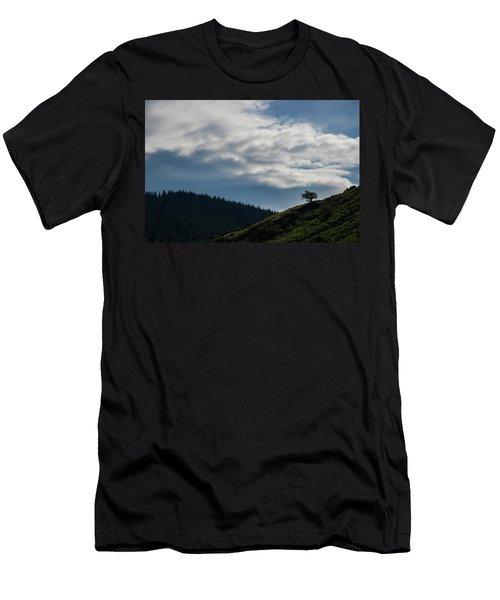 Alone Men's T-Shirt (Athletic Fit)
