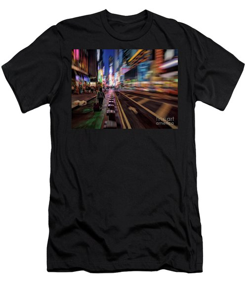 Alone In New York City 2 Men's T-Shirt (Athletic Fit)