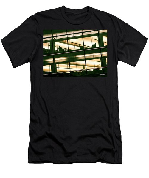 Alone In The Temple Men's T-Shirt (Athletic Fit)