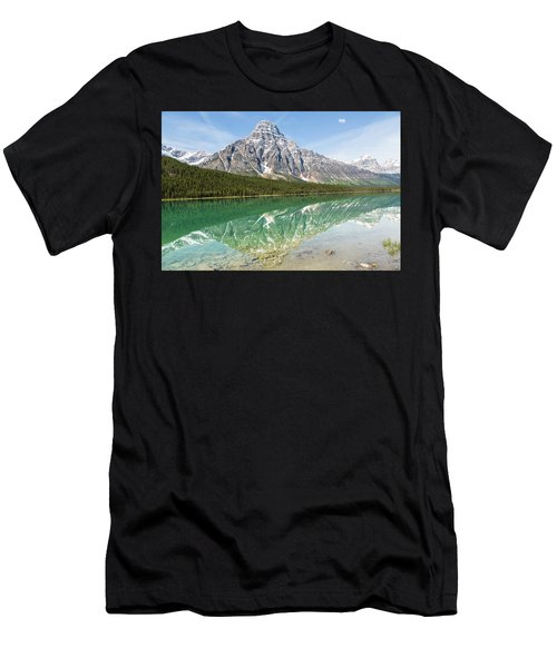 Along Highway 93 Men's T-Shirt (Athletic Fit)