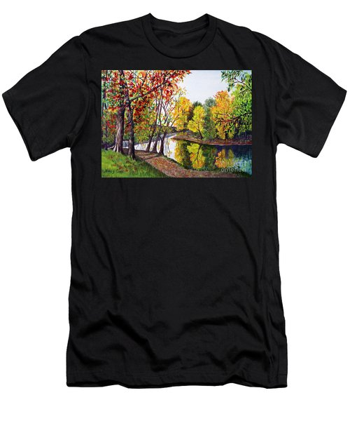 Along The Blanchard Men's T-Shirt (Athletic Fit)