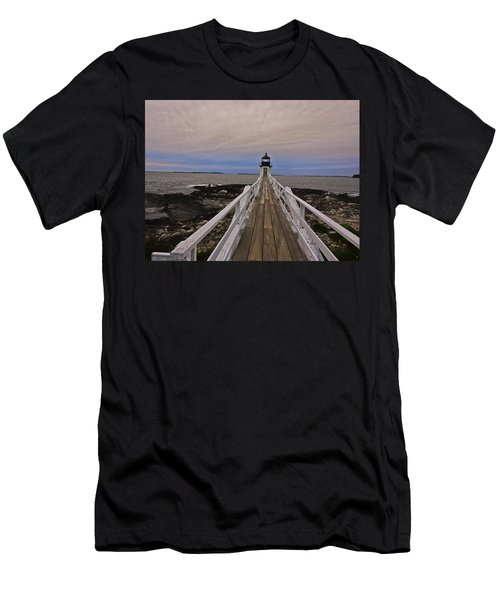 Along The Boardwalk Men's T-Shirt (Athletic Fit)