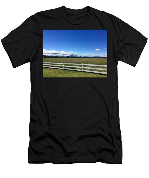 Along The Fence Line Men's T-Shirt (Athletic Fit)