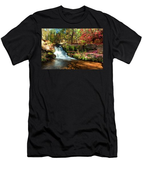 Along The Horton Trail Men's T-Shirt (Slim Fit) by Anthony Citro