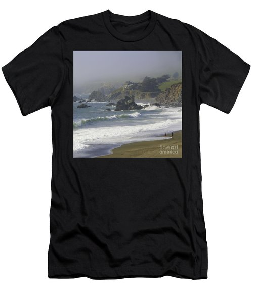 Along The Pacific #2 Men's T-Shirt (Athletic Fit)