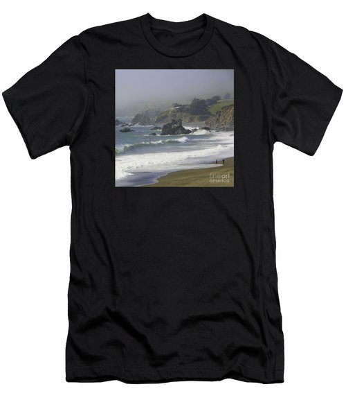 Along The Pacific #2 Men's T-Shirt (Athletic Fit)