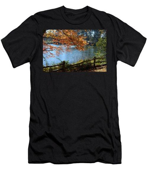 Along The Road Men's T-Shirt (Athletic Fit)