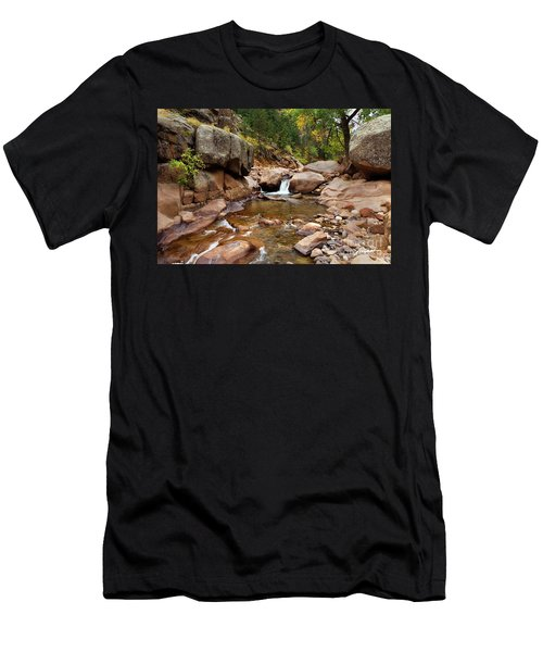 Along The St. Vrain Men's T-Shirt (Athletic Fit)