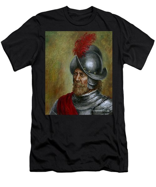 Alonso De Alvarado Men's T-Shirt (Athletic Fit)
