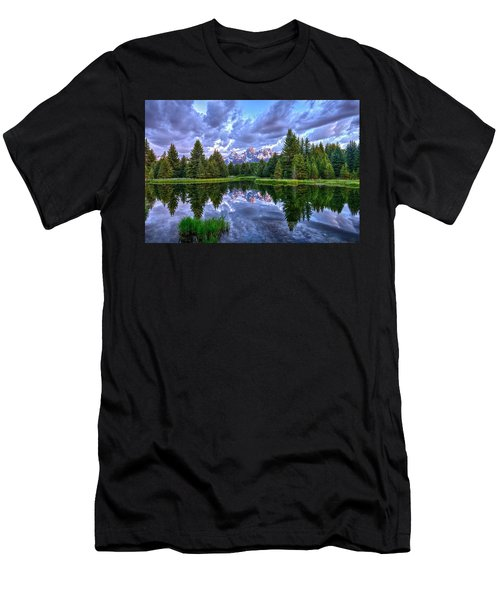 Alpenglow In The Tetons Men's T-Shirt (Athletic Fit)