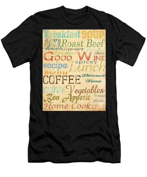 Alphabet Soup-a Men's T-Shirt (Athletic Fit)