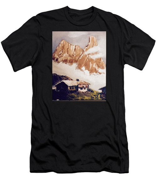 Alpine Home  Men's T-Shirt (Athletic Fit)