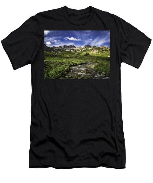 Alpine Loop  Men's T-Shirt (Athletic Fit)