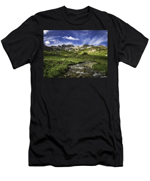Alpine Loop  Men's T-Shirt (Athletic Fit)