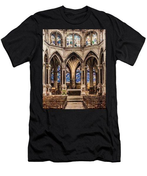 Paris, France - Altar - Saint-severin Men's T-Shirt (Athletic Fit)