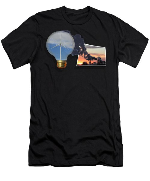 Alternative Energy Men's T-Shirt (Athletic Fit)