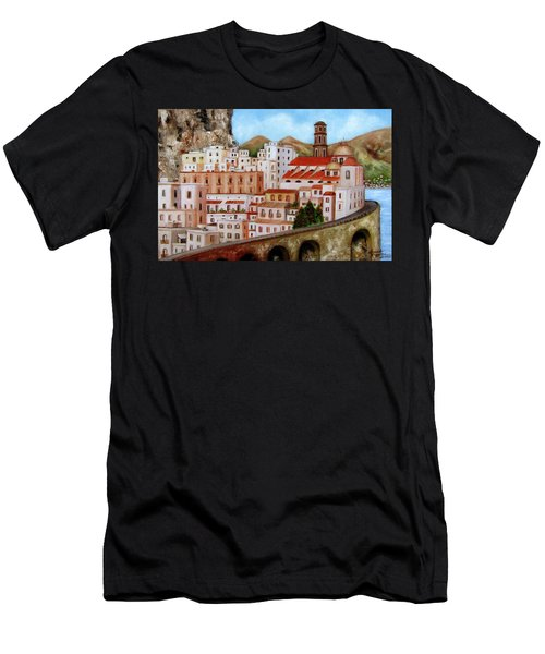 Amalfi Coast Men's T-Shirt (Athletic Fit)