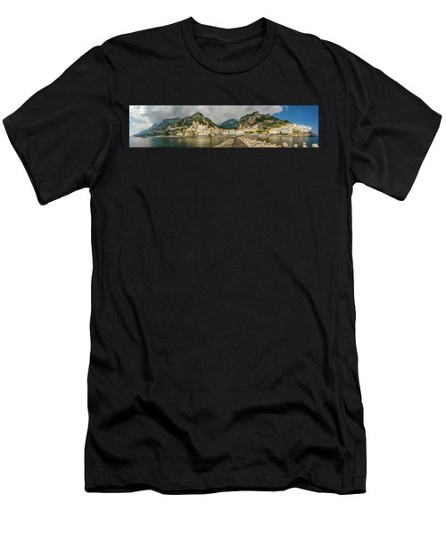 Men's T-Shirt (Athletic Fit) featuring the photograph Amalfi by Steven Sparks