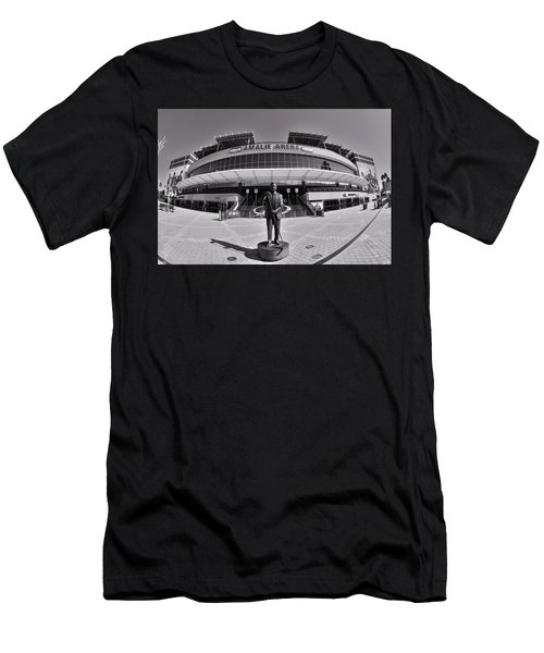 Amalie Arena Black And White Men's T-Shirt (Athletic Fit)