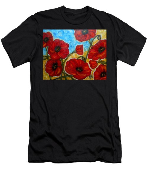 Amapolas Men's T-Shirt (Athletic Fit)