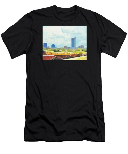 Amarillo Texas In The Spring Men's T-Shirt (Athletic Fit)