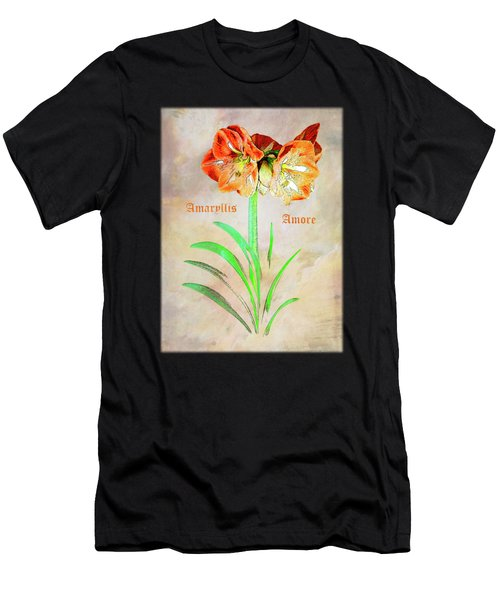 Amaryllis Amore Men's T-Shirt (Athletic Fit)