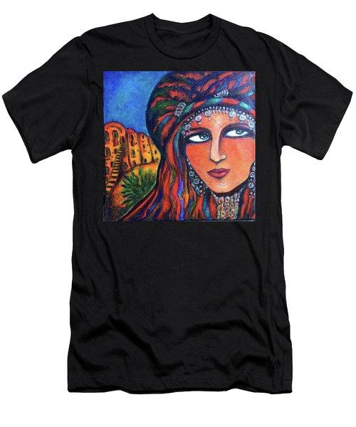 Amazigh Beauty 2 Men's T-Shirt (Athletic Fit)