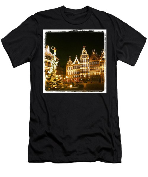 Amazing Romantic Antwerp Men's T-Shirt (Athletic Fit)