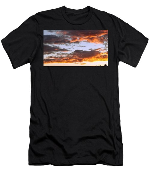 Glorious Clouds At Sunset Men's T-Shirt (Athletic Fit)