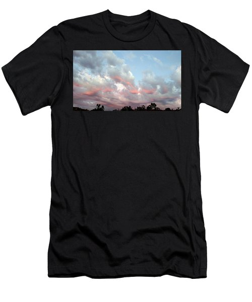 Amazing Clouds At Dusk Men's T-Shirt (Athletic Fit)