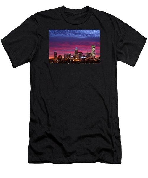 Amazing Colors Of Charlotte Men's T-Shirt (Athletic Fit)