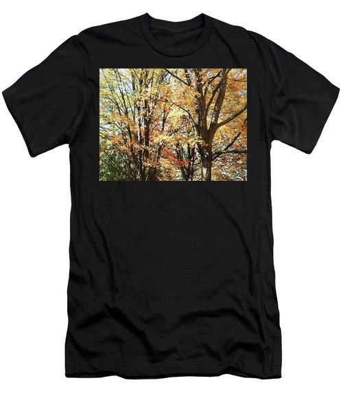 Men's T-Shirt (Athletic Fit) featuring the photograph Amazing Fall by Irina Sztukowski
