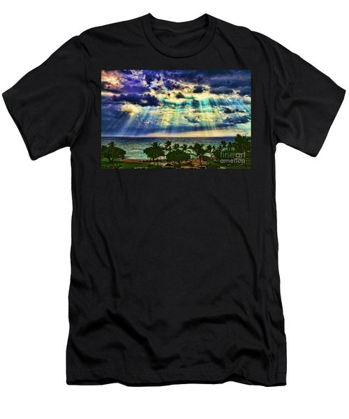 Amazing Grace - Sun Rays Before Sunset By Diana Sainz Men's T-Shirt (Athletic Fit)