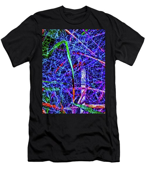 Amazing Invisible Web Men's T-Shirt (Athletic Fit)