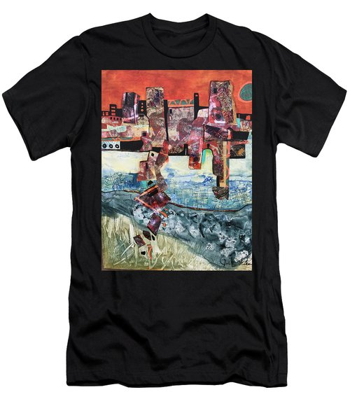 Amazing Places Men's T-Shirt (Athletic Fit)