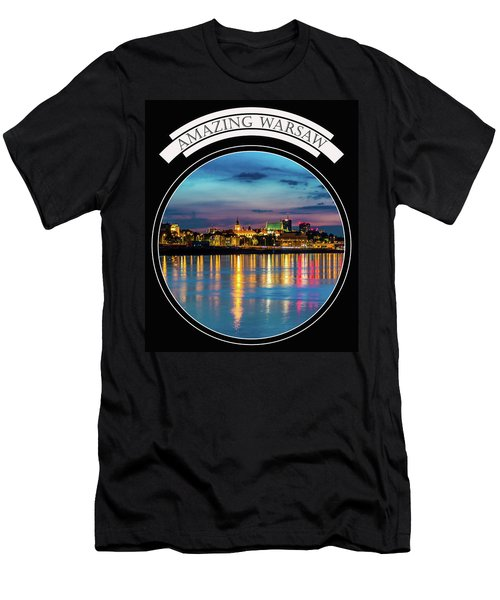 Men's T-Shirt (Slim Fit) featuring the photograph Amazing Warsaw Tee 1 by Julis Simo