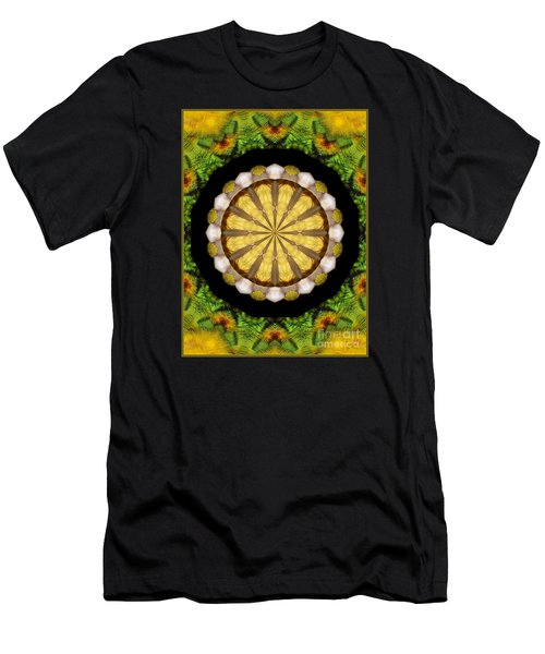 Men's T-Shirt (Slim Fit) featuring the photograph Amazon Kaleidoscope by Debbie Stahre
