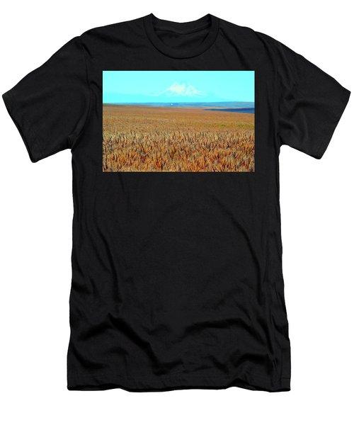 Amber Waves Of Grain Men's T-Shirt (Athletic Fit)