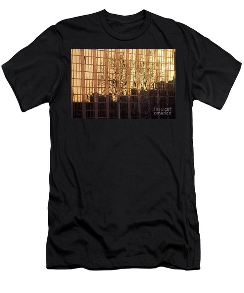 Amber Window Men's T-Shirt (Slim Fit) by Ana Mireles