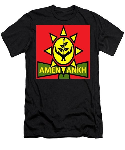 Amen Ankh Sunset Men's T-Shirt (Athletic Fit)