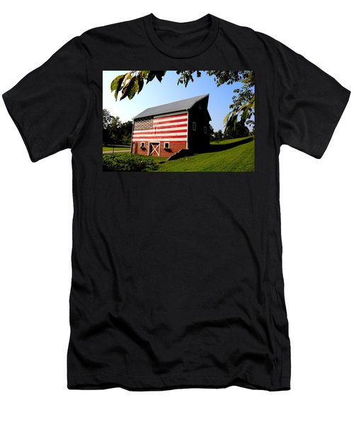 Americana 1 Desoto Kansas Men's T-Shirt (Athletic Fit)