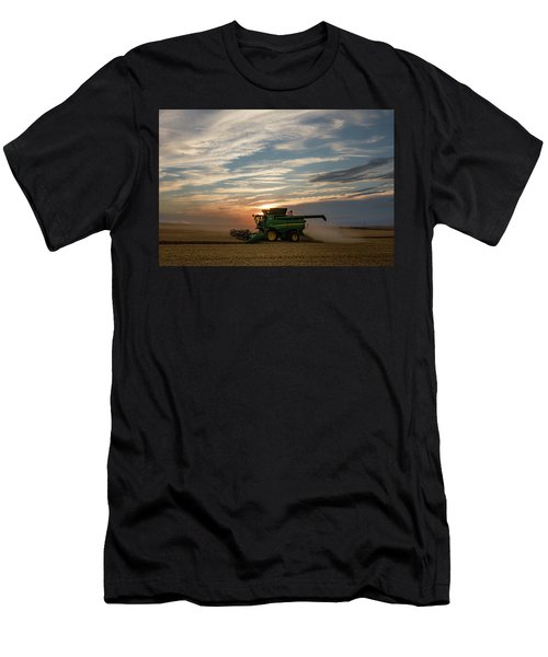 Men's T-Shirt (Athletic Fit) featuring the photograph American Combine by Todd Klassy