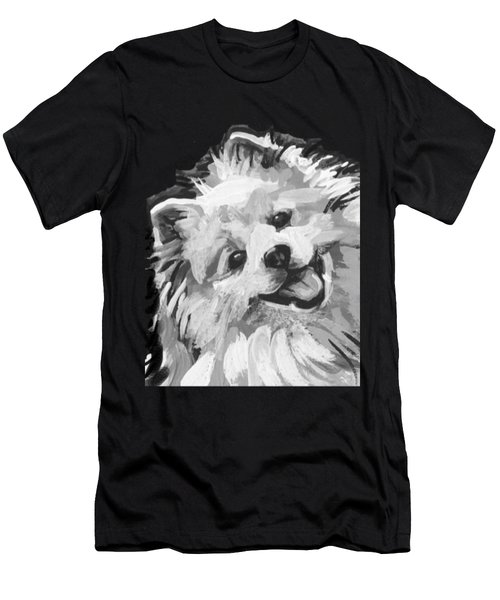American Eskimo Pooch Men's T-Shirt (Athletic Fit)