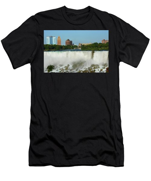 American Falls With Bridal Veil Men's T-Shirt (Athletic Fit)