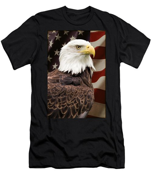 American Freedom Men's T-Shirt (Athletic Fit)