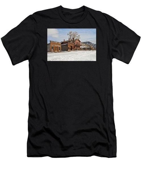 American Ghost Town Men's T-Shirt (Athletic Fit)