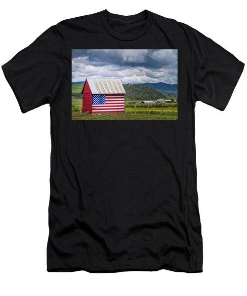 American Landscape Men's T-Shirt (Athletic Fit)