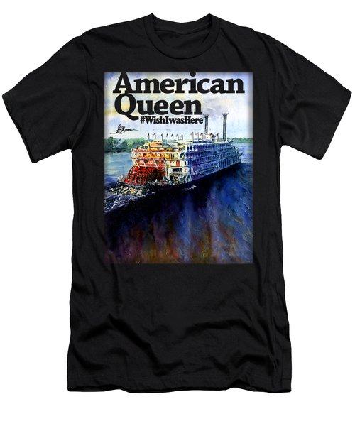 American Queen Shirt Men's T-Shirt (Athletic Fit)