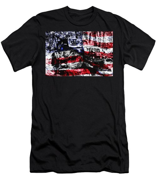 American Rock Crawler Men's T-Shirt (Athletic Fit)